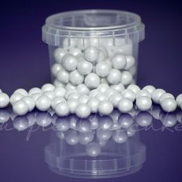 Large Sugar Pearls 10mm - Pearl White