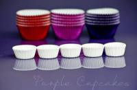 Cupcake Cases Mini x 100 - White