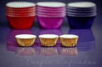 Cupcake Cases Mini x 45 - Gold
