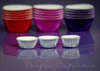 Cupcake Cases Mini x 45 - Silver