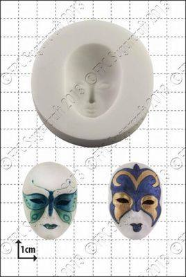 Cupcake Mould - Venetian Mask