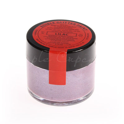 Sugarflair Edible Glitter Paint Lilac 20g