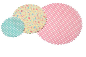 Patterned Paper Doilies
