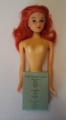 Redhead Hair Doll Pick