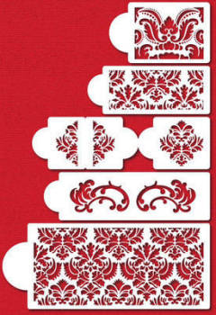 Five Tier Damask Set