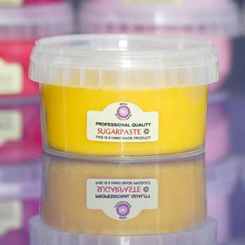 Beau Sugarpaste: Daffodil Yellow 250g