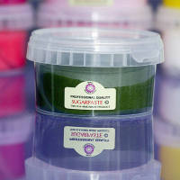 Beau Sugarpaste: Leaf Green 250g