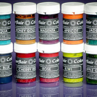 Sugarflair Paste Colours 25g - Pastel Colours Set 2 x 10