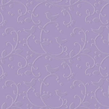 Designer Embossing Folder - Birdie