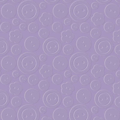 Designer Embossing Folder - Buttons