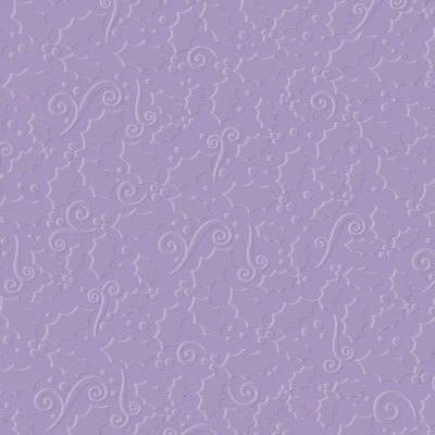 Designer Embossing Folder - Christmas Holly/Berries