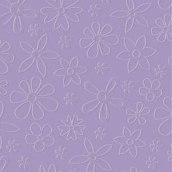 Designer Embossing Folder - Modern Flowers