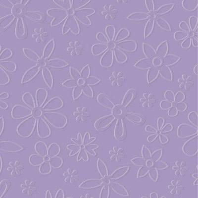 Designer Embossing Folder - Modern Flowers