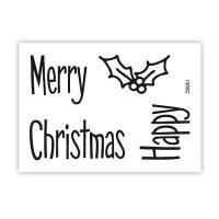 impressit™ Merry Happy Christmas RETRO