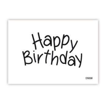 impressit™ Happy Birthday FINE TIP