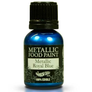Metallic Food Paint - Royal Blue