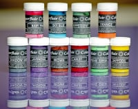 Sugarflair Paste Colours 25g - Pastel Colours Set 1 x 10