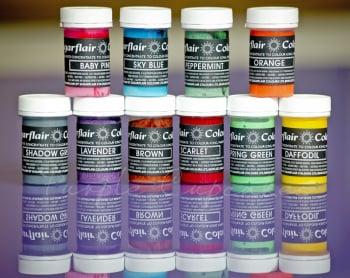 Paste Colours 25g - Pastel Colours Set 1 x 10