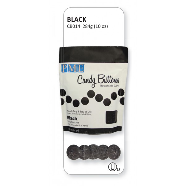 Black Candy Buttons