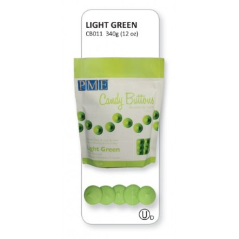 Light Green Candy Buttons