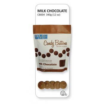 Milk Chocolate Candy Buttons