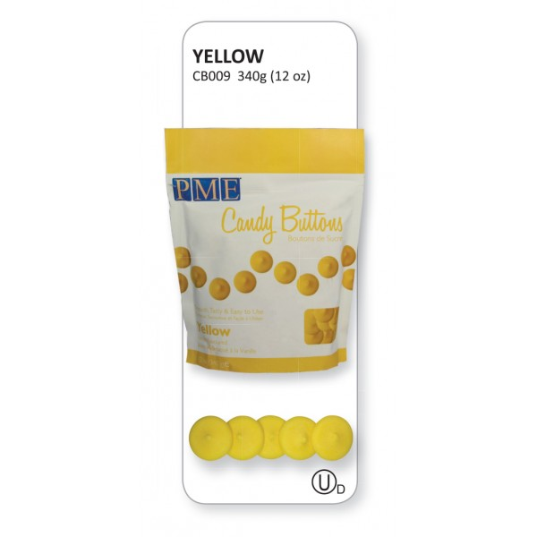 Yellow Candy Buttons