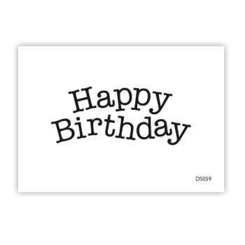 impressit™ Happy Birthday TYPEWRITER Mini