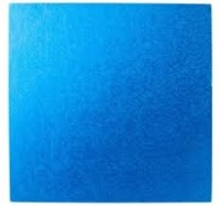 "Cake Drum - 10"" SQUARE Royal Blue"