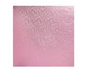 "Cake Drum -  8"" SQUARE Pale Pink"