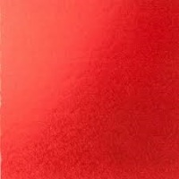 "Cake Drum - 8"" SQUARE Red"