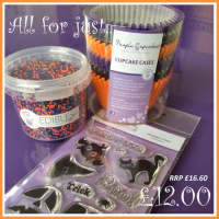 impressit™ Halloween Set (Cases x 72, edibles™, stamps & a block)