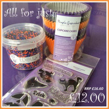 impressit™ Halloween Set (Cases x 72, edibles™, stamps & a block)
