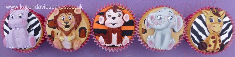 Karen Davies Jungle Animals Mould