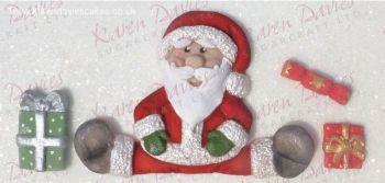 Karen Davies Sitting Santa Mould