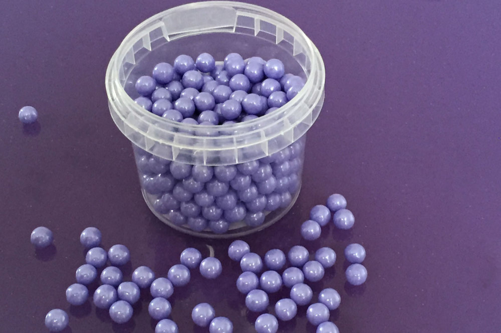 Large Sugar Pearls 7mm - Pearl Lavender