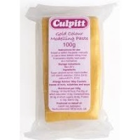 Culpitt Modelling Paste Gold - 100g