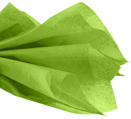 Tissue Paper Pack - Lime Green