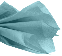 Tissue Paper Pack - Aqua Blue