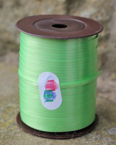 Curling Ribbon - Lime Green