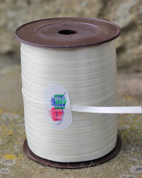 Curling Ribbon - White