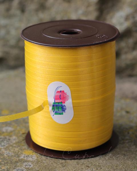 Curling Ribbon - Yellow