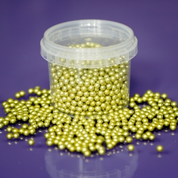 Edible Gold Balls - 4mm