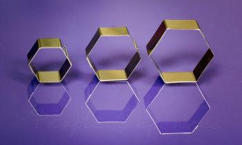 Hexagon x 3