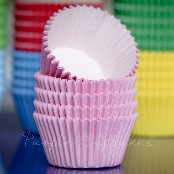 Cupcake Cases - Baby Pink