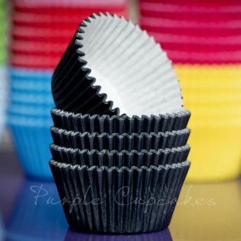 Cupcake Cases - Black