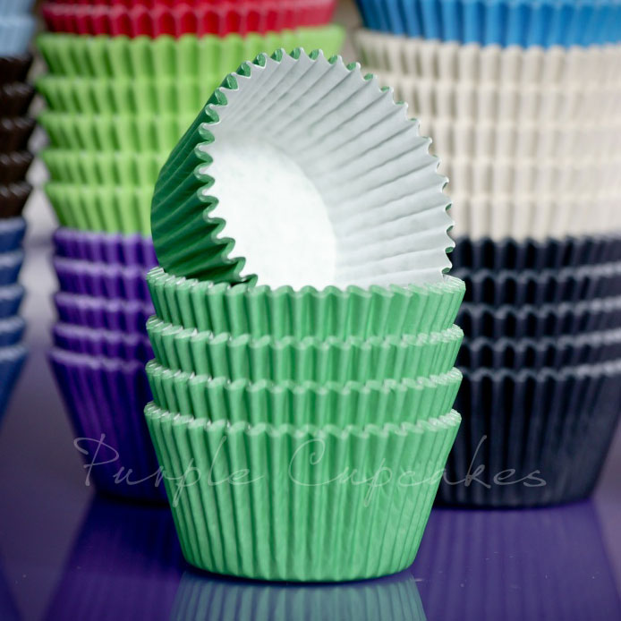 Cupcake Cases - Green