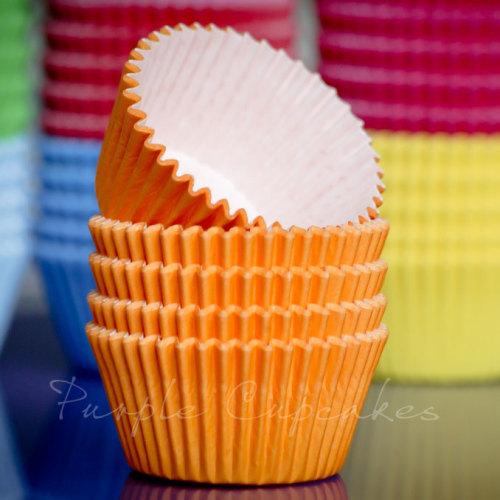Cupcake Cases - Orange