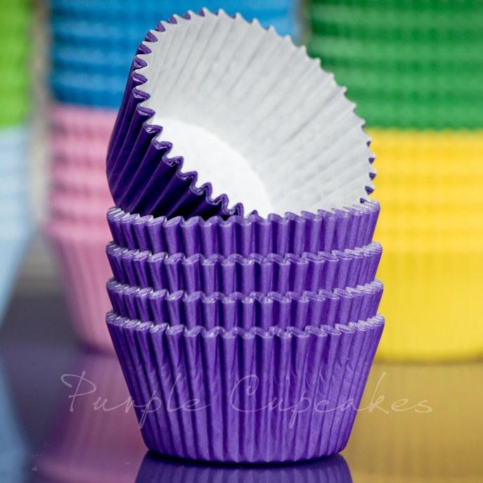 Cupcake Cases - Purple