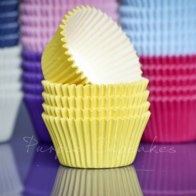 Cupcake Cases - Yellow