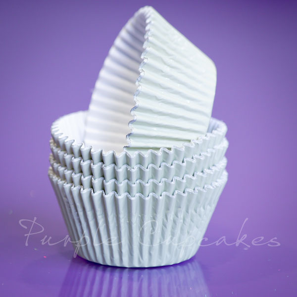 Cupcake Cases FOIL - 70 Ivory